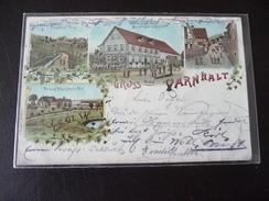 Gruss Aus Varnhalt Stadtteil Von Baden-Baden Litho 1899 - Baden-Baden