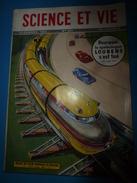 1952 SCIENCE Et VIE  N° 423-->Pourquoi Le Spéléologue Loubens S'est Tué;Le Monorail Wenner-Gren;Larderello (Italie);etc - Science