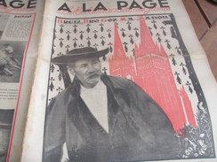 BRETAGNE FINISTERE /ECUSSON  AIR FRANCE /CHARCOT POLLUX /ETANCELIN CHIRON NUVOLARI / /A LA PAGE - Livres, BD, Revues