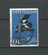 1958 N° 777  ANTENNE ET PIANO   OBLITERE 2 SCANNE - 6. 1946-.. Republic