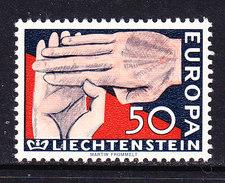 Europa Cept 1962 Liechtenstein 1v ** Mnh (CO339) - 1962