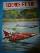 1951 SCIENCE Et VIE  N° 408-->Les PEYOLT Plante De Légende; La Coque Plate Est Plus Rapide;Le Caoutchouc Conducteur;etc - Science