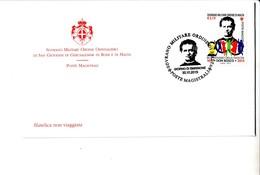 S.M.O. MALTA FDC 2015 BICENTENARIO NACISTA DON BOSCO - Malta (la Orden De)