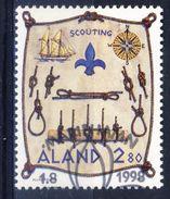 #Åland 1998. Scouts. Michel 144. Cancelled - Aland