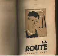 """SCOUTISME-""""LA ROUTE """"//Revue Mensuelle Année Complète 1947--Relié TBE - Livres, BD, Revues"""