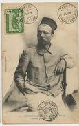 127 Explorateur Ferdinand De Behagle Né à Ruffec 16 Mort à Dikoa Assassiné Par Rabah 1899 Edit Audéma Timb. Carnot - Congo Français - Autres