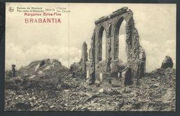 +++ CPA - Ruines De DIXMUDE - DIKSMUIDE - Guerre 1914-18 - Eglise - Kerk - Pub Publicité Brabantia   // - Diksmuide