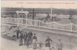 HALEN-HAELEN-RUSTPLAATS-KERKHOF-GRAVEYARD-OORLOG-GESNEUVELDEN 12-08-1914-ZELDZAME KAART-ZIE 2 SCANS-TOP ! ! ! - Halen