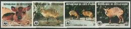 WWF  COSTA D'AVORIO  1985  SET  MNH - Unused Stamps