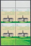 !a! GERMANY 2013 Mi. 2985 MNH BLOCK W/ Top & Bottom Margins -Peace Contract Of Hubertusburg - [7] République Fédérale