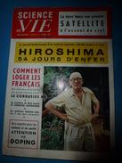 1955 SCIENCE Et VIE    Hiroshima : L'ENFER; Doping : ATTENTION Les étudiants Et Les Sportifs; Etc - Science