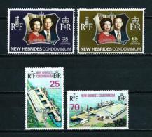 Nuevas Hébridas (Británicas)  Nº Yvert  356/7-368/9  En Nuevo - Leyenda Inglesa