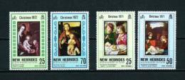 Nuevas Hébridas (Británicas)  Nº Yvert  316/7-352/3  En Nuevo - Leyenda Inglesa