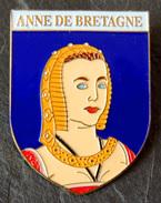 Broche ANNE DE BRETAGNE - Collection Rois Et Reines De France - Personajes Célebres