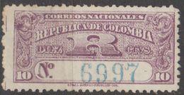 Colombie Lettre Chargée 1902 N° 53   (E13) - Colombie