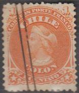 Chili 1867-68 N° 11 Christophe Colomb (E13) - Chili