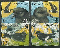 WWF   FAROE ISLAND  BIRDS  2005  SET  MNH - W.W.F.