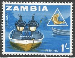 Zambia. 1964 Definitives. 1/- MH. SG 101 - Zambia (1965-...)