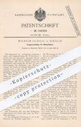 Original Patent - Wilhelm Oudille , Krefeld , 1898 , Fangvorrichtung Für Webschützen | Webschütze , Webstuhl , Weber !! - Historische Dokumente