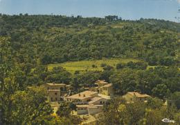 """Plan De La Tour 83 - Vue Aérienne Village Vacances """"Le Reverdit"""" - 1975 - France"""