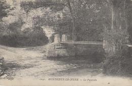 Montrieux Le Jeune 83 - Pont Passerelle - Cachet Méounes  1915 - Franchise Militaire - Chartreuse De Montrieux - France