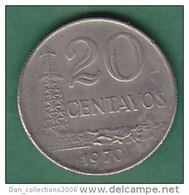 BRESIL     20 CENTAVOS   ANNEE 1970    LOT100343 - Brésil