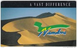 Namibia, NMB-008,  Dunes - Value N$ 10, 2 Scans.   (SIE-30) - Namibia