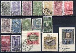 AUSTRIA 1910 80th Birthday Set Complete Used. - 1850-1918 Empire