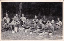 CPA-PHOTO Carte-Photo (38) CHAMBARAN Souvenir De La Classe 1936 Militaria Militaire (2 Scans) - Matériel