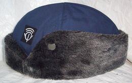 Vintage PTT Uniform Cap With Patch - Netherlands Postal Service - Copricapi