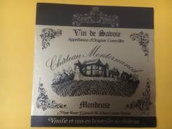 4554 -  Château Monterminod Mondeuse Savoie - Etiquettes