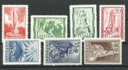 LETTLAND Latvia 1937 Michel 246 - 252 MNH - Latvia