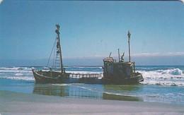 Namibia, NMB-018, Shipwreck,  2 Scans.  ( SIE 31) - Namibia