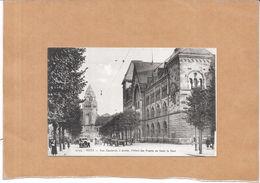 METZ - 57 - Rue Gambetta, à Droite L'Hotel Des Postes Au Fond La Gare - LYO86 - - Metz