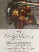 4564 -  Cindy's Réserve 1984 Cabernet Sauvignon Afrique Du Sud Flight Of Ndongeni Artiste L.Matsoso - Art