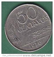 BRESIL     50 CENTAVOS   ANNEE 1970    LOT100388 - Brésil