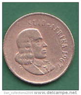 AFRIQUE DU SUD   1 CENT   ANNEE 1967    LOT100386 - Afrique Du Sud