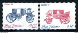1985 VATICANO SERIE COMPLETA MNH** - Vatican