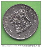 AFRIQUE DU SUD   20 CENTS   ANNEE 1972    LOT100384 - Afrique Du Sud