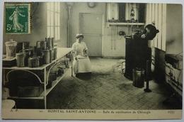 HOPITAL SAINT ANTOINE - SALLE STÉRILISATION DE CHIRURGIE - Santé, Hôpitaux