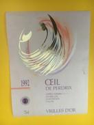 4590 -  Vrilles D'or Oeil De Perdix 1992 Valais Suisse - Rouges