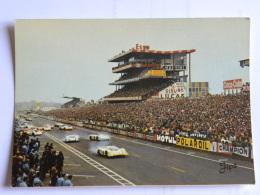 CPM (72) Sarthe - LE MANS - Circuit Des 24 Heurs Du Mans - Le Démarrage Des Voitures - Le Mans