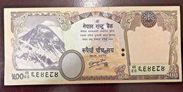 C) NEPAL BANK NOTE 500 RUPEES (2009) UNC - Nepal