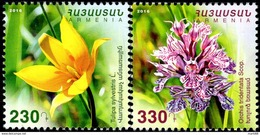 Armenia - 2016 - Flora - Tulip And Orchid - Mint Stamp Set - Armenia
