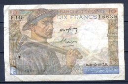 456-France Billet De 10 Francs 1947 B F140 - 1871-1952 Circulated During XXth