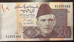 C) PAKISTAN BANK NOTE 20 RUPEES ND 2006 UNCIRCULATED - Pakistan