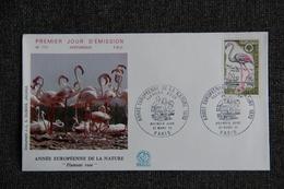 FDC - Enveloppe 1er Jour,  N° 712 : FLAMANT ROSE - 1970-1979