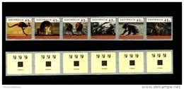 AUSTRALIA - 1996  45c. KANGAROOS & KOALAS  P & S  STRIP PEMARA  3 KOALAS REPRINT  MINT NH - Nuovi