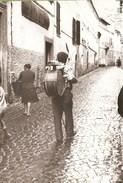 Vallepietra - REAL PHOTO (12,0 X 18,0 Cm) - Suonatore Ambulante - Roma - Italia - Altre Città