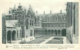 MALINES - Cour Du Palais De Justice - Mechelen